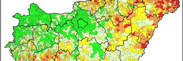 Társadalmi-gazdasági adatbázis település szinttől a régiós szintig