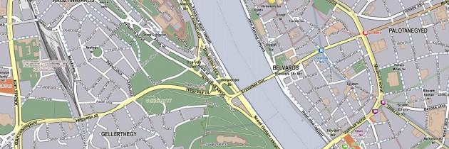 Utca szintű raszter térkép
