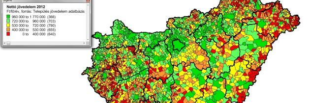 Társadalmi-gazdasági adatbázis Magyarország településeire (2000-2015)